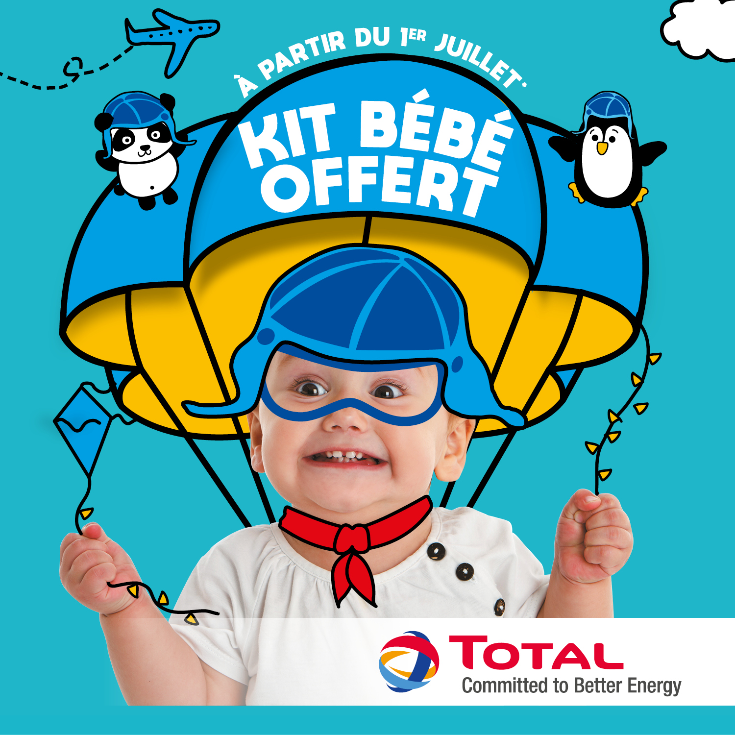 Key visual, Kit bébé total