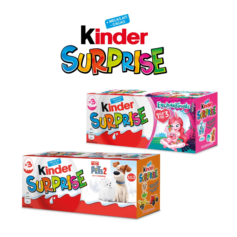 Kinder surprise T3 licence BE