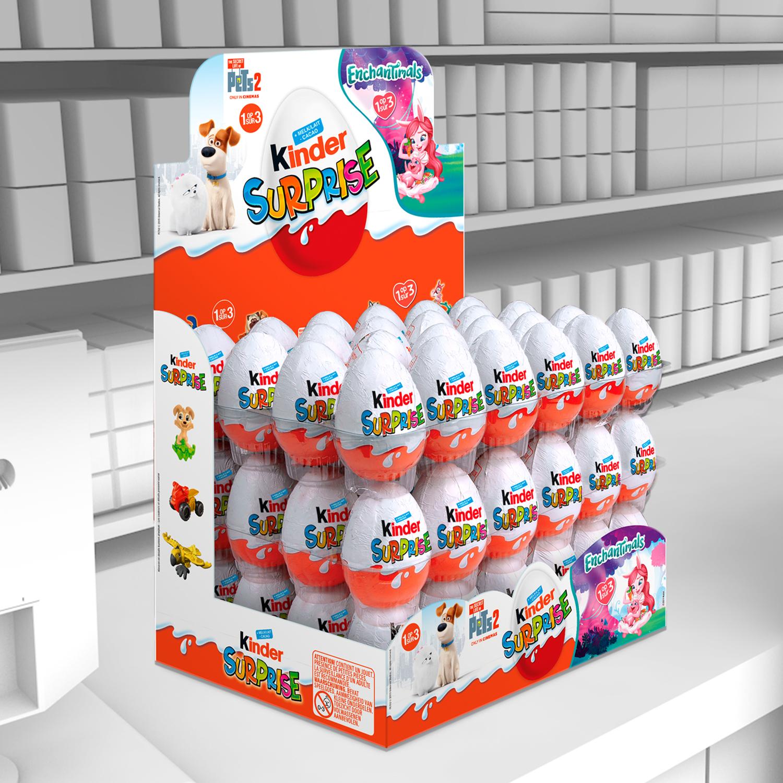 Display Kinder Surprise FBE comptoir
