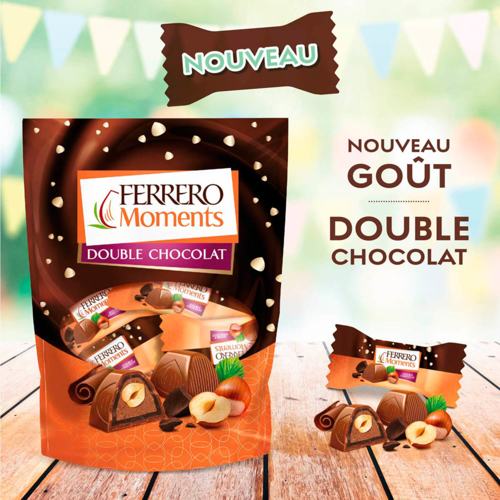 post facebook ferrero moments double chocolat