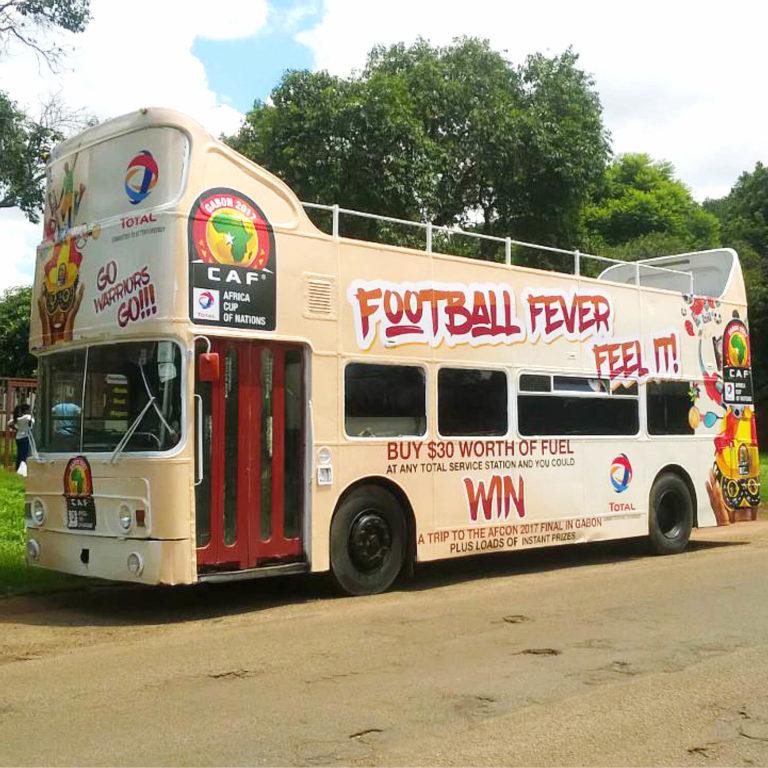 Habillage de bus en impression numérique